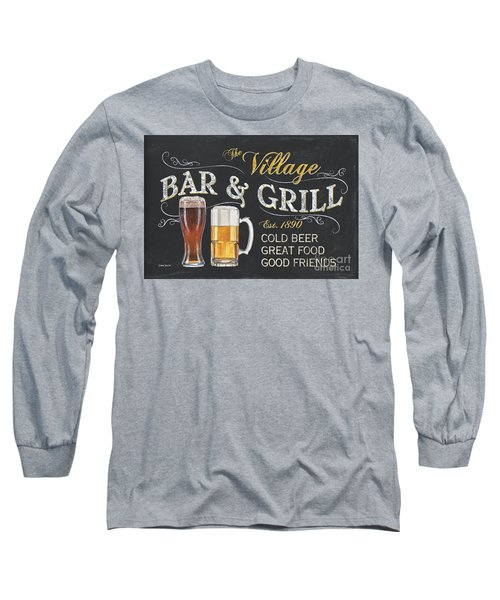 Village Bar And Grill Long Sleeve T-Shirt