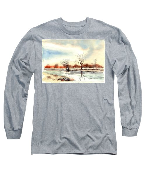 Village Scene II Long Sleeve T-Shirt