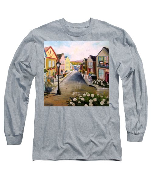 Village Street Long Sleeve T-Shirt