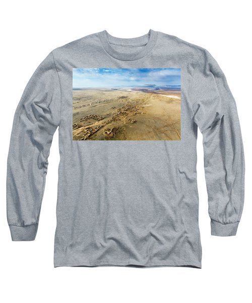Village Toward Amu Darya River Long Sleeve T-Shirt