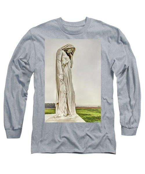 Vimy Memorial - Canada Bereft Long Sleeve T-Shirt