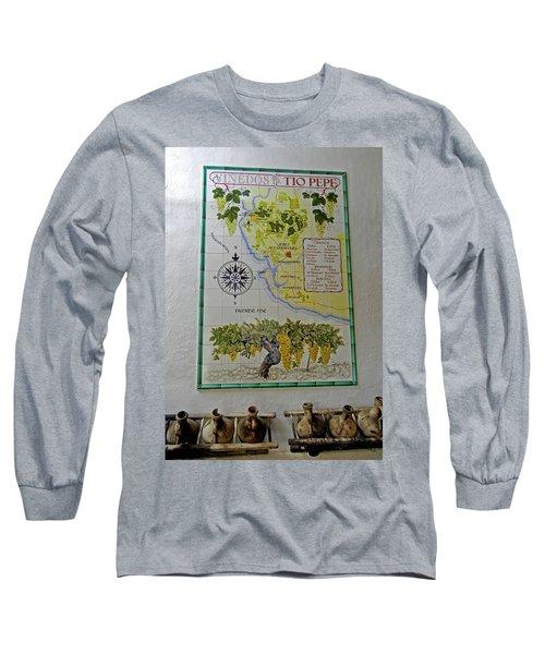 Vinedos Tio Pepe - Jerez De La Frontera Long Sleeve T-Shirt