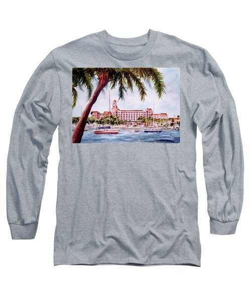 Vinoy View Long Sleeve T-Shirt by Roxanne Tobaison