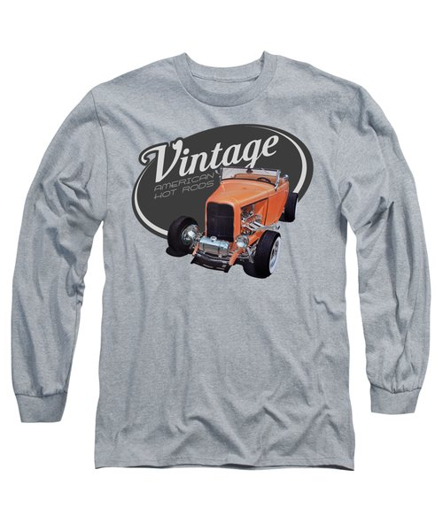 Vintage American Hot Rods Long Sleeve T-Shirt