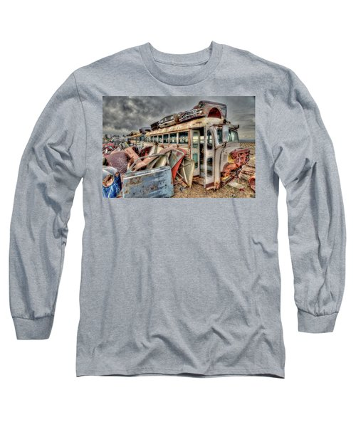 Vintage Bus Long Sleeve T-Shirt