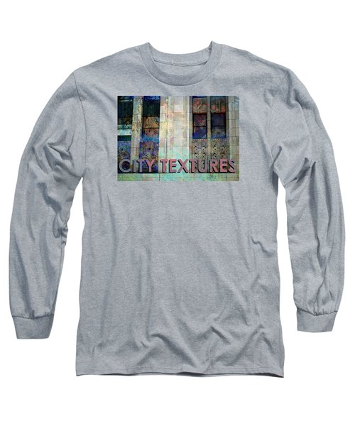 Vintage City Textures Long Sleeve T-Shirt