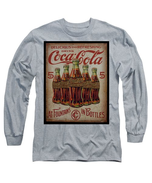 vintage Coca Cola sign Long Sleeve T-Shirt