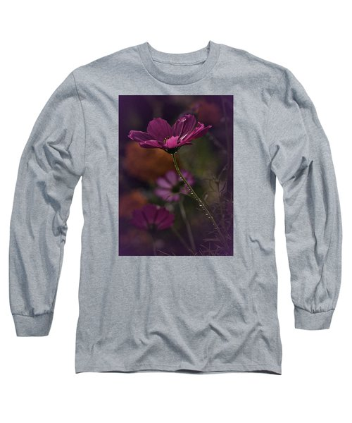 Vintage Cosmos Long Sleeve T-Shirt