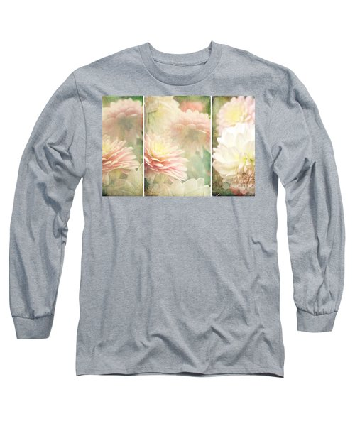 Vintage Dahlia Long Sleeve T-Shirt