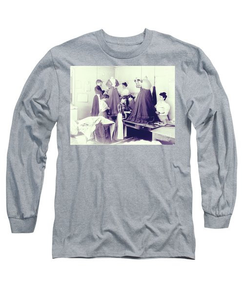 Vintage Dressmakers Long Sleeve T-Shirt