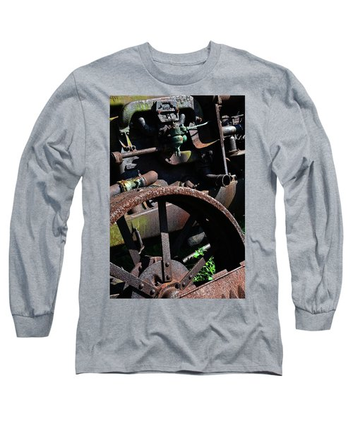 Vintage Farm Tractor Long Sleeve T-Shirt