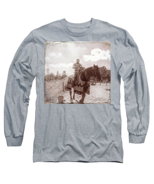 Vintage Knight Long Sleeve T-Shirt