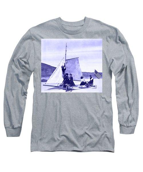 Vintage Ladies And Gentlemen Sail On The Desert Queen Long Sleeve T-Shirt