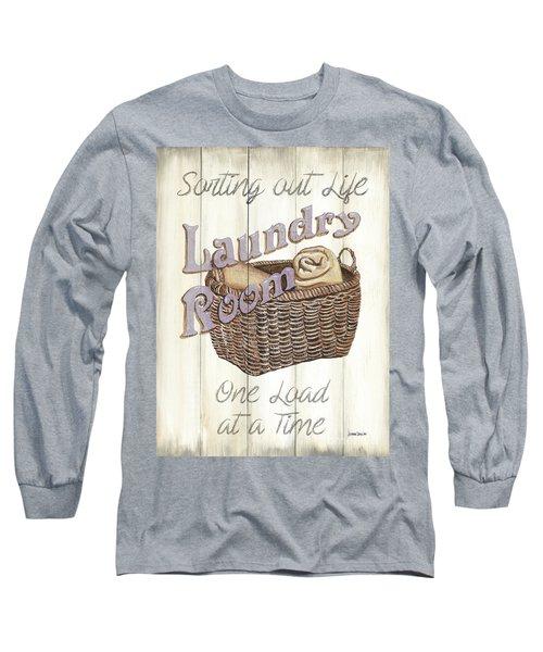Vintage Laundry Room 2 Long Sleeve T-Shirt