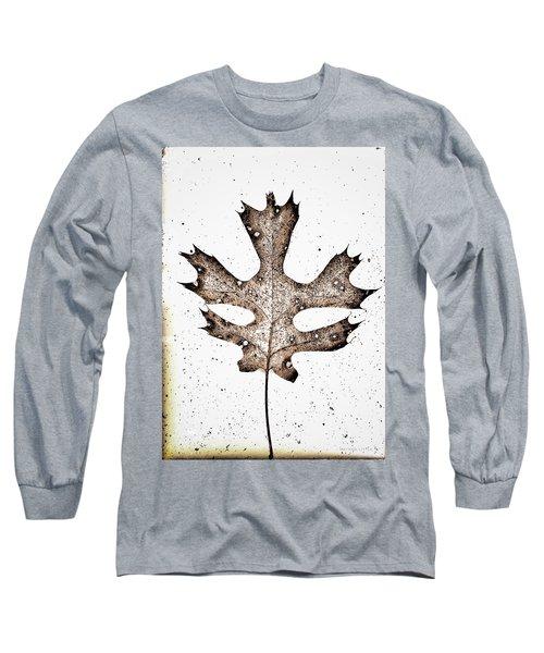 Vintage Leaf Long Sleeve T-Shirt