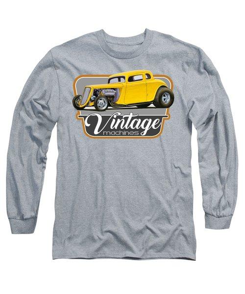 Vintage Machines Long Sleeve T-Shirt