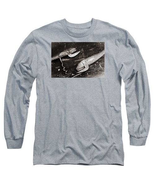 Long Sleeve T-Shirt featuring the photograph Vintage Openers  by Andrey  Godyaykin