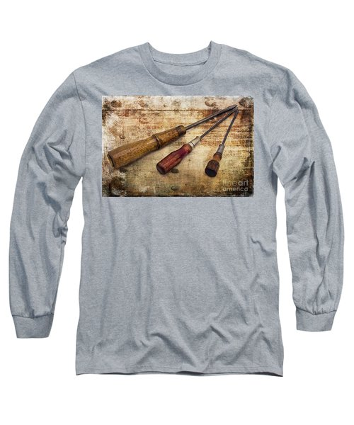 Vintage Screwdrivers Long Sleeve T-Shirt