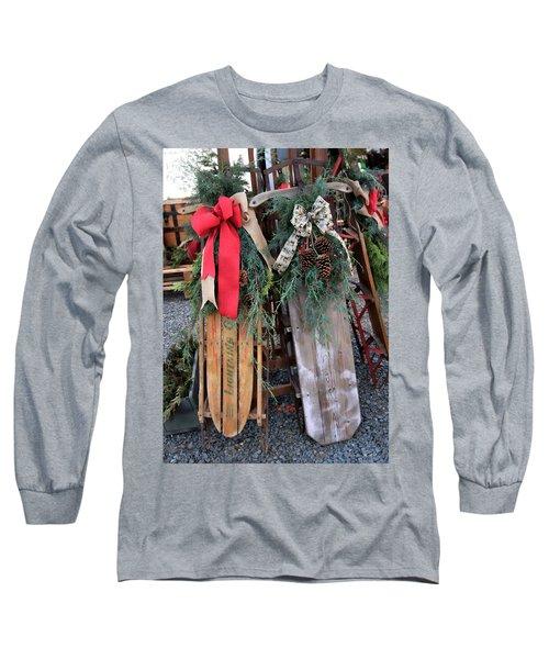 Vintage Sleds Long Sleeve T-Shirt