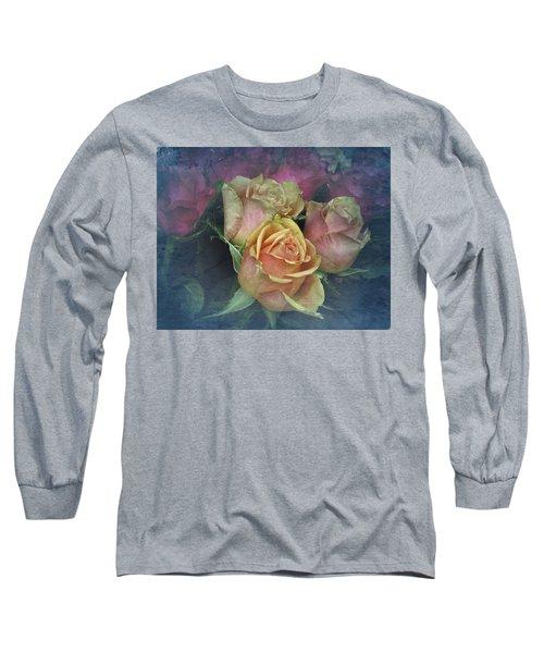 Vintage Sunday Roses Long Sleeve T-Shirt