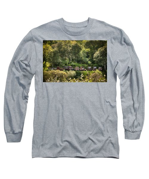 Vintage Vehicles In The Spring Long Sleeve T-Shirt