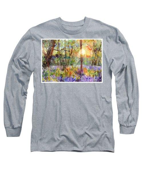 Violet Sunrise Long Sleeve T-Shirt