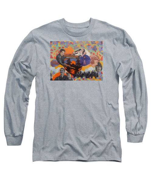 Virgil's Band Played Saturday Night Long Sleeve T-Shirt by Rodger Ellingson