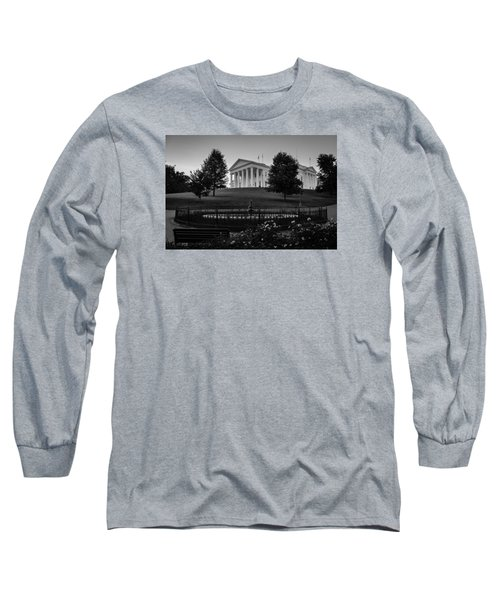 Virginia State Capitol Long Sleeve T-Shirt