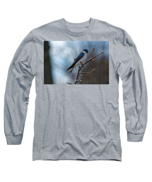 Vision In Blue Long Sleeve T-Shirt