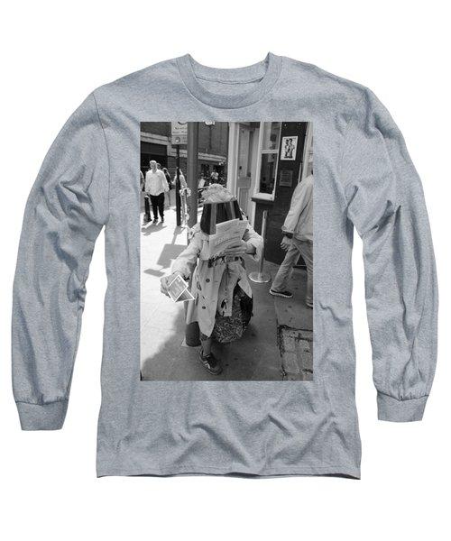 Visored Long Sleeve T-Shirt