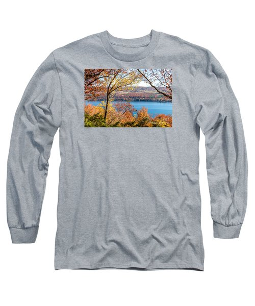 Vista From Garrett Chapel Long Sleeve T-Shirt by William Norton