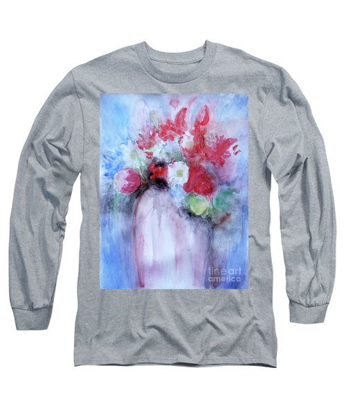 Vitality Still Life Long Sleeve T-Shirt by Jasna Dragun