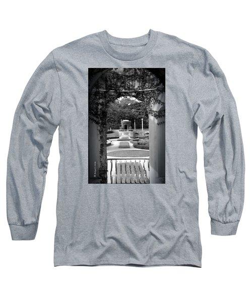 Vizcaya Garden Long Sleeve T-Shirt