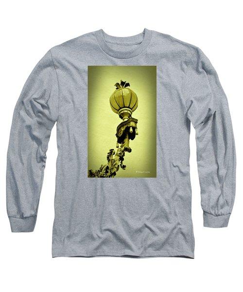 Vizcaya Lamp Long Sleeve T-Shirt by Edgar Torres