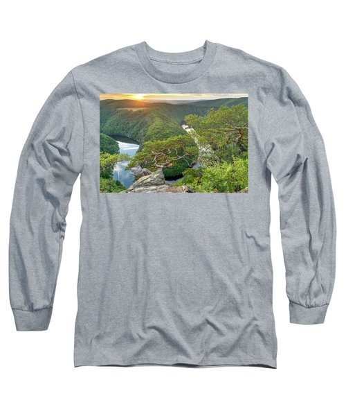 Vltava River Long Sleeve T-Shirt