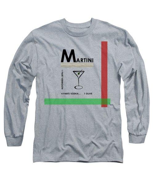 Vodka Martini Long Sleeve T-Shirt