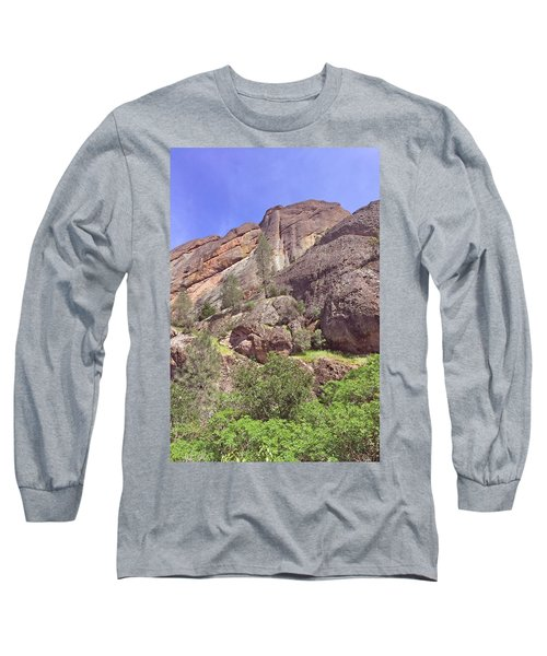Long Sleeve T-Shirt featuring the photograph Volcanic Colors by Art Block Collections