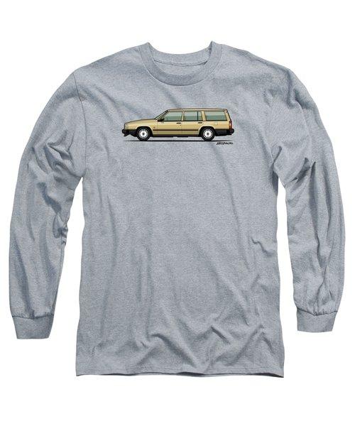 Volvo 740 745 Wagon Gold Long Sleeve T-Shirt