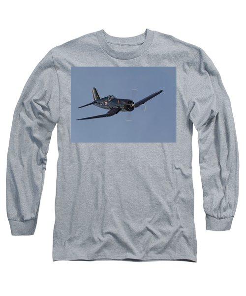 Vought Corsair Long Sleeve T-Shirt by Pat Speirs