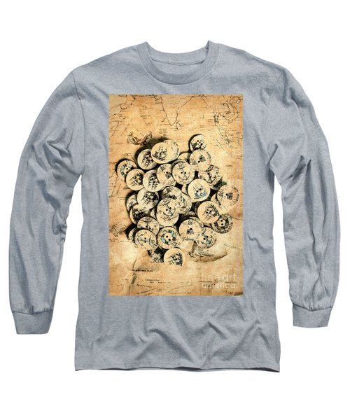 Voyages Of Old World Long Sleeve T-Shirt