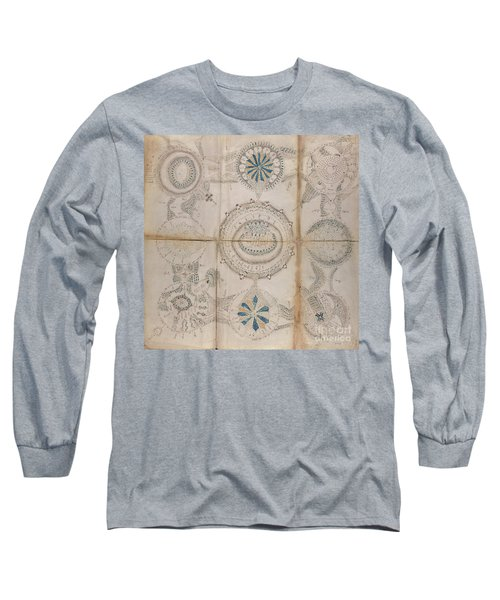 Voynich Astro 3x3 Long Sleeve T-Shirt