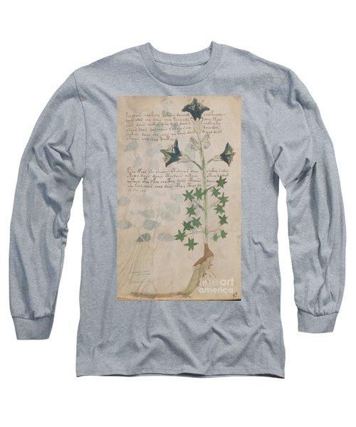 Voynich Flora 03 Long Sleeve T-Shirt