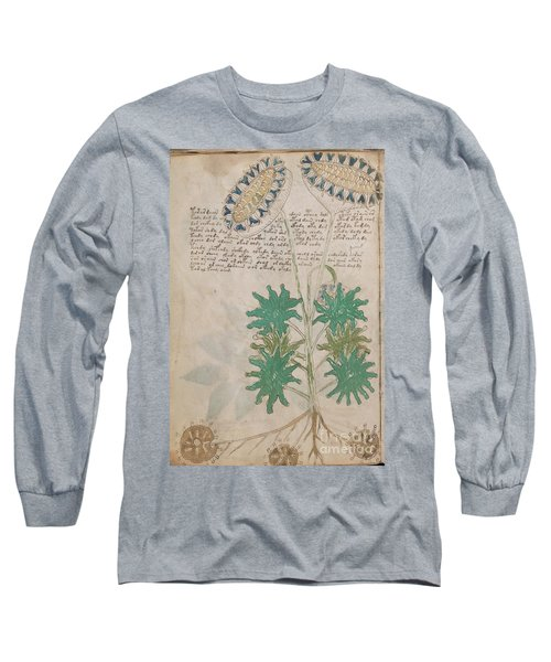 Voynich Flora 04 Long Sleeve T-Shirt