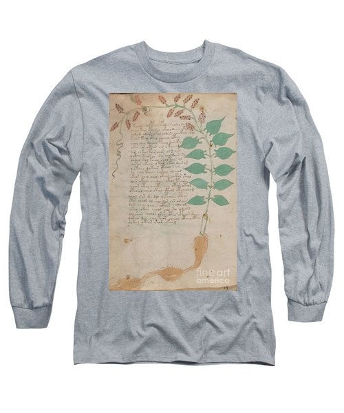 Voynich Flora 07 Long Sleeve T-Shirt