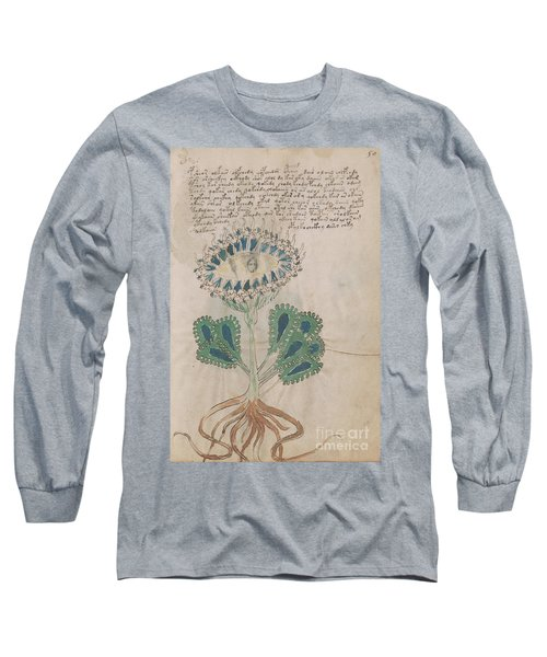 Voynich Flora 11 Long Sleeve T-Shirt