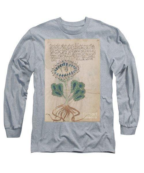 Voynich Flora 11 Long Sleeve T-Shirt