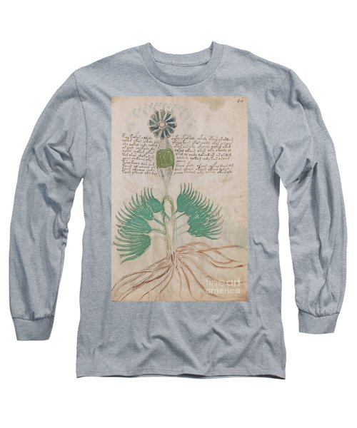 Voynich Flora 16 Long Sleeve T-Shirt