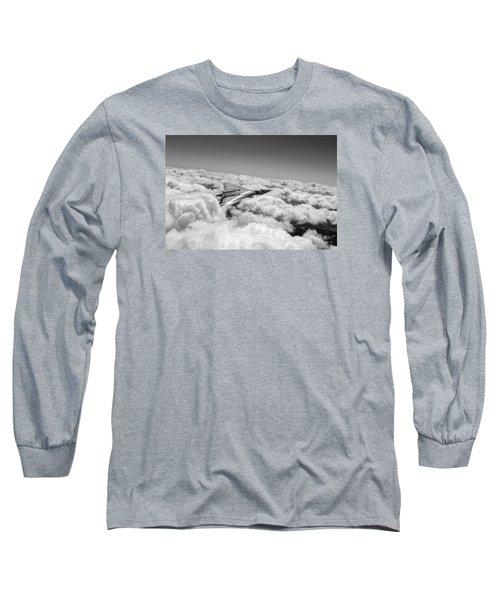 Vulcan Sheen Bw Version Long Sleeve T-Shirt
