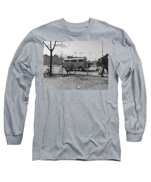 Vw Oldie Long Sleeve T-Shirt by Andy Langemann