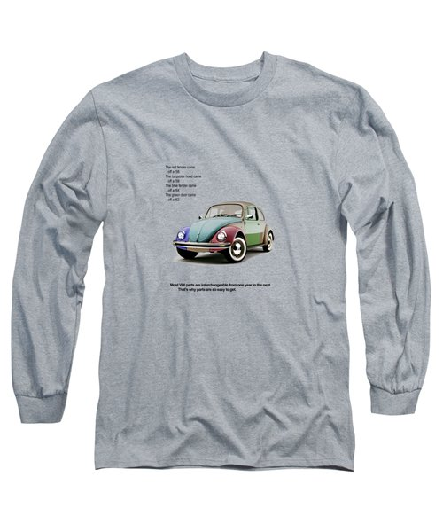 Vw Parts Long Sleeve T-Shirt by Mark Rogan